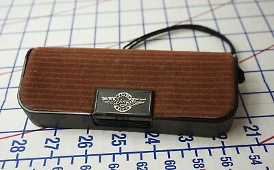"""Vintage BAUSCH & LOMB SUNGLASSES CASE ONLY """"Maker of Ray-Ban"""" B&L Original"""