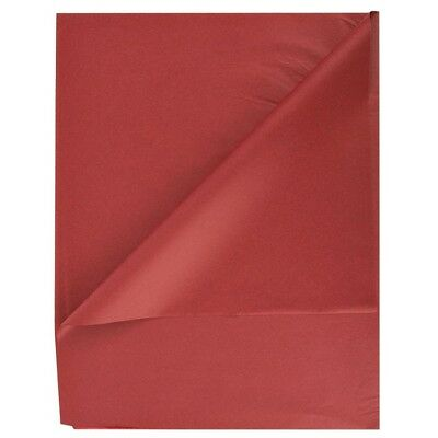 """SATIN WRAP Case 2,400 Premium Wrapping Tissue Papers 20"""" x 30"""" Mulberry Red Wine"""