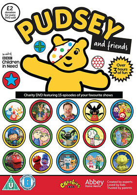BBC Children in Need - Pudsey and Friends DVD (2016) ***NEW***