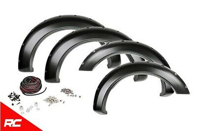 Rough Country F-F11811 Pocket Fender Flares w/ Rivets   2018 Ford F-150 4WD/2WD