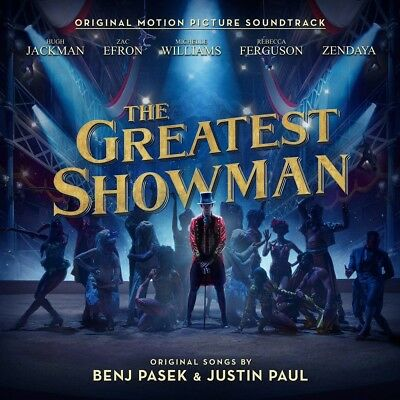 The Greatest Showman Soundtrack CD New 2017