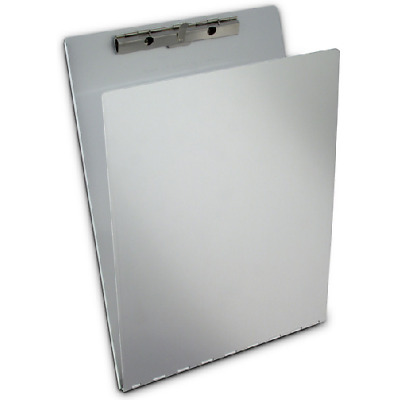 "Saunders 12017 Serrated Clip Aluminum 9"" x 12.5"" Clipboard w/Backing"