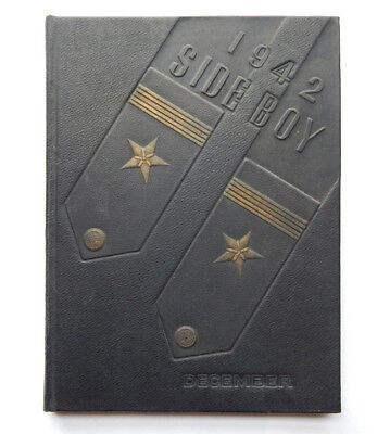 Side Boy 9th Class of the US Naval Reserve Midshipmen's School Yearbook (1942)