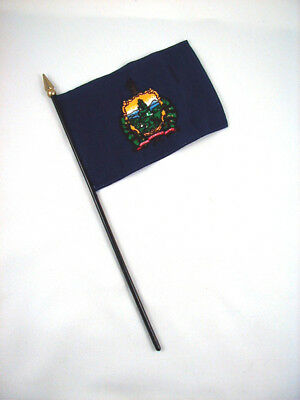 State Mini Stick Flag SOUTH DAKOTA New! 4 inches by 5 1//2 inches