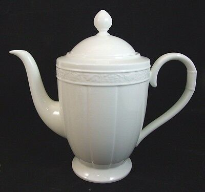 V&B Villeroy & Boch CAMEO WEISS COFFEE POT Mint!