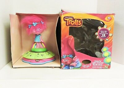 Dreamworks Trolls Colorful Light and Sound Room Glow Night Light