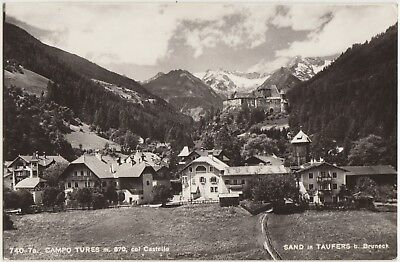 Campo Tures Col Castello - Sand In Taufers B.bruneck (Bolzano) 1960