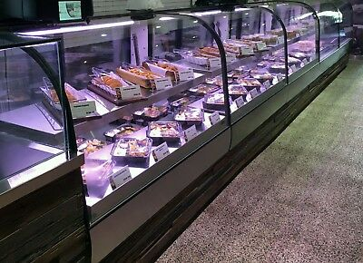 Federal refrigerated bakery case