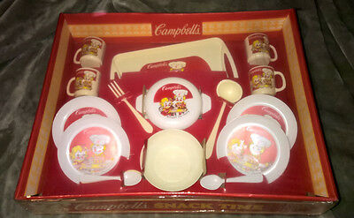 Campbell's ~ Snack Time ~ Play Set ~ Worcester Toy ~ New! ~ Vintage!