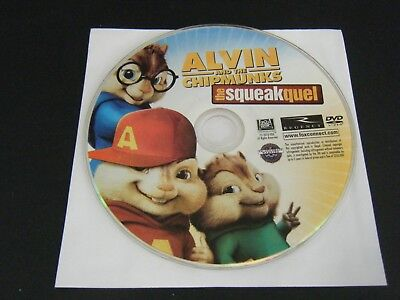 Alvin and the Chipmunks: The Squeakquel (DVD, 2010) - Disc Only!!!!