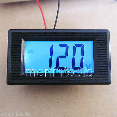 Mini Blue LCD Digital Volt Meter DC 7.5~30V For 9V 12V 24V [CAPT2011]