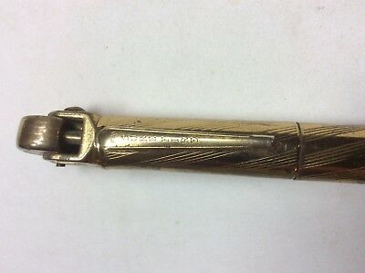 Antique Vintage Sure Fire Lighter MECHANICAL PENCIL Brass Colored WWII