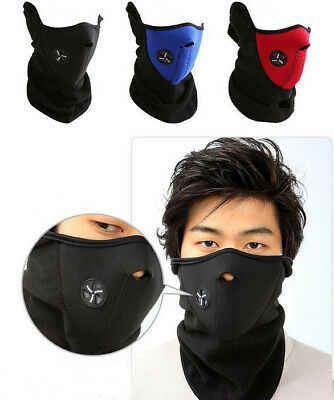Motorcycle Bike Bicycle Ride Half Face Mask DustProof Winter Neck Warmer Cover