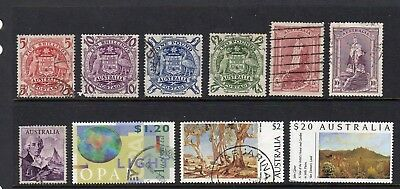Australia - higher face value used stamps