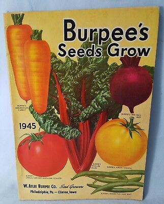 1945 Burpees Seed Sales Catalog 100 Pages