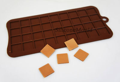 2cm Squares Pixels Tiles Mosaic Silicone Chocolate Mould Minecraft Cake Topper