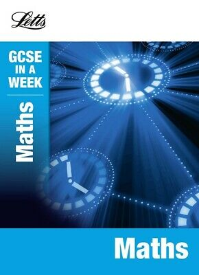 GCSE in a week: Maths by Fiona Mapp (Paperback) Expertly Refurbished Product