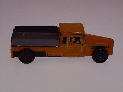 "GSPKW NEW PENNY TOYS  ""FISCHER LASTWAGEN"",10 cm,GELB, SEHR GUT/VERY GOOD !"