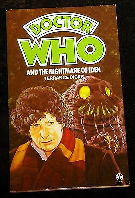 Doctor Who and the Nightmare of Eden novelisation 1983 edition by Terrance Dicks