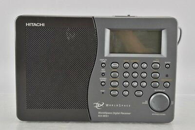 a01v55- Hitachi Worldspace Radio KH-WS1, digital receiver