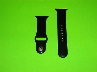 Apple Watch 38Mm Sport Edition Black Band Strap Size Large Lg