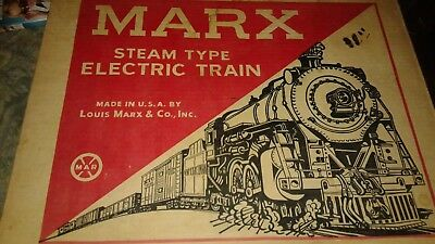 Vintage Marx Steam Type Electric Train Set in Box 4225