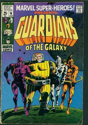 Marvel Super-Heroes #18 VG- (1st app Guardians of The Galaxy)