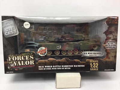 Forces Of Valor Enthusiast Ed Us M1A1 Abrams Baghdad 2003 1:32 Scale Tank Nib