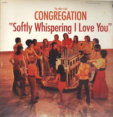 LP Mike Curb Congregation Softly Whispering I Love You STILL SEALED NEW OVP