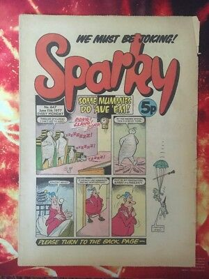 Sparky Comic No. 647 11 June 1977. Fn+