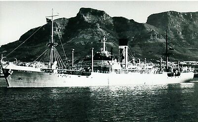 """Ship Photo: British Freighter Ship """"city Of Agra""""  Built 1936"""