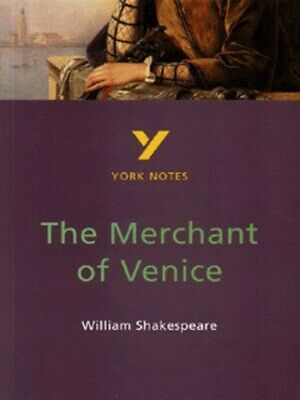 York notes: The merchant of Venice, William Shakespeare: notes by Martin Walker