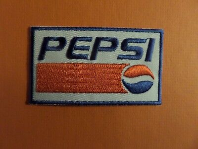 PEPSI red & white &blue   Embroidered 2 x 3 Iron On Patch
