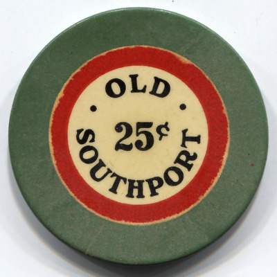 25C Old  Southport Club , New Orleans Illegal Club Chip