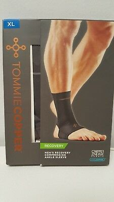 Tommie Copper Men's Recovery Compression Ankle Sleeve X-Large