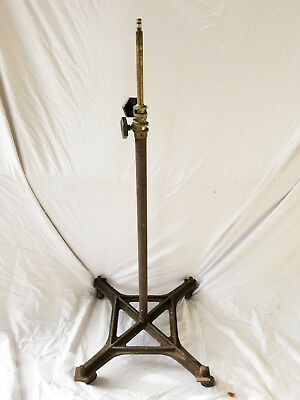 Vintage Heavy Duty Hollywood Style Industrial Studio Lighting Stand 8 Feet V25
