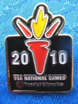 Special Olympics USA National Games Enamel Lapel Hat Pin Tie Tack