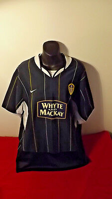 Leeds United Dark Blue Nike Jersey In Great Cond Size L
