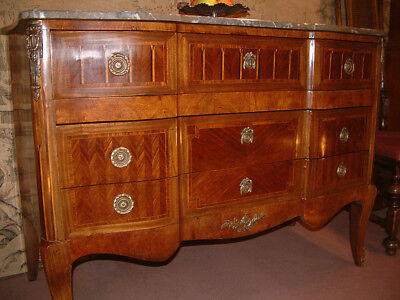 19th Century French Kingwood secretaire, chest of drawers, Commode. c 1860