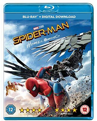Spider-man Homecoming [Blu-ray] [2017] [Region Free] -  CD JTVG The Fast Free