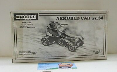 ENCORE Models Nr. 3501:  Armored Car   WZ.34,  1:35