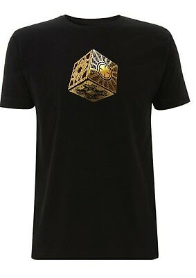 Hellraiser Puzzle box t shirt cenobite pinhead Horror Movie tshirt cube
