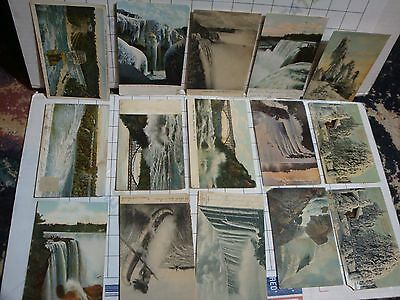 lot 25x old antique vintage pc postcard collection all NIAGARA FALLS NY New York