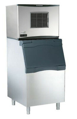 Scotsman 776lb Prodigy Ice Machine Small Cube & 536lb Ice Bin 208v