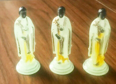 1 ONLY Kitschy Glow in the Dark Saint Religious Made in Peru