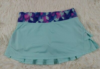 Ivivva by Lululemon Set the Pace Skirt Size 8