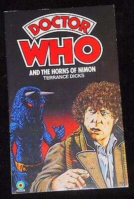 Doctor Who and the Horns of Nimon novelisation 1982 edition by Terrance Dicks