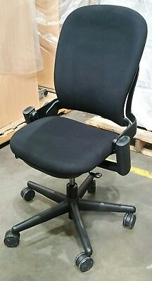 Steelcase leap v2 chair aud picclick au - Steelcase leap ergonomic office chair ...