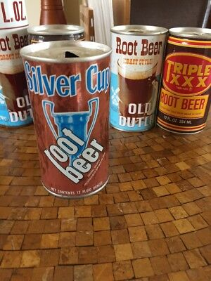 Silver Cup Root Beer Can