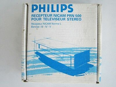 RÉCEPTEUR NICAM STEREO PHILIPS PRN500..Vintage.Collection..NEUF..